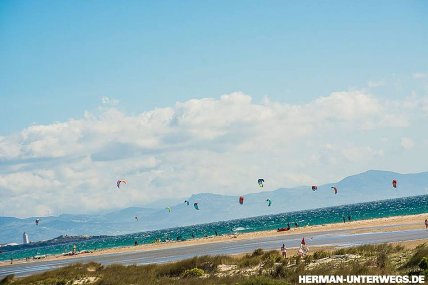 Tarifa-Paradies für Kiter
