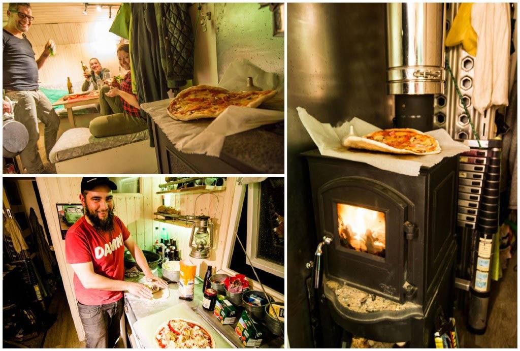 Pizza backen im Wohnmobil