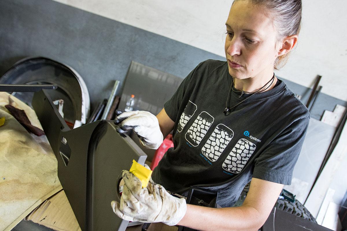 Plast PT Kunststofffärber Anwendung