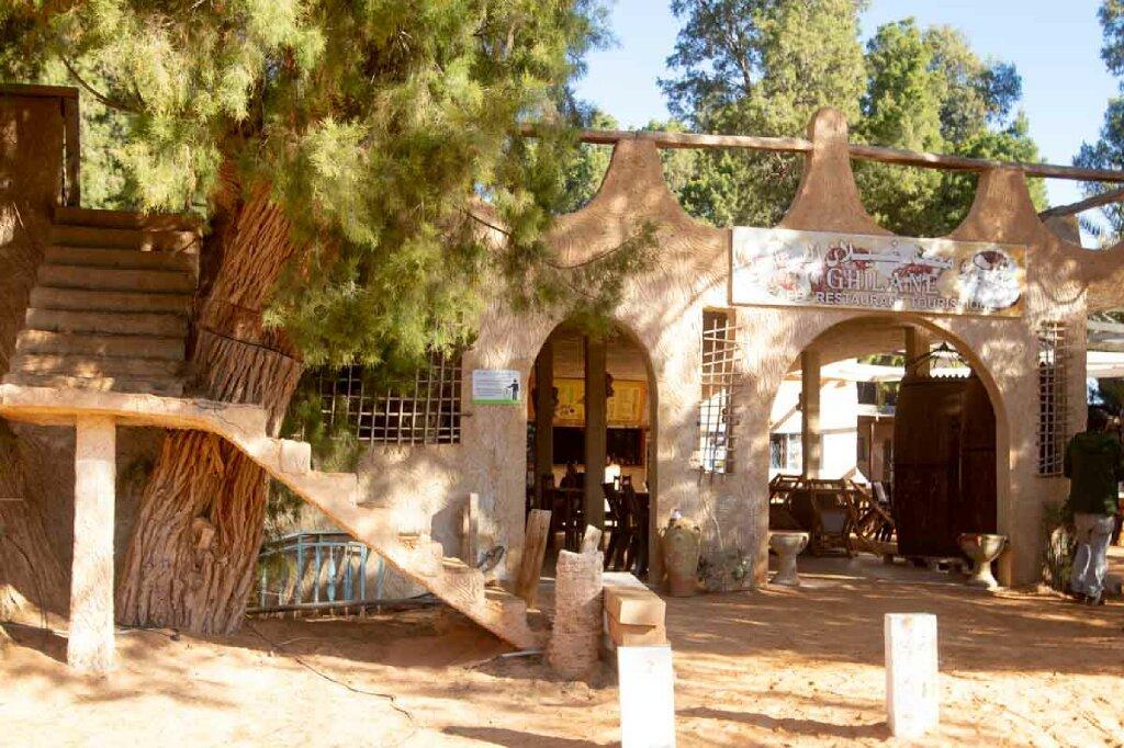 Ksar Ghilane, Restaurant
