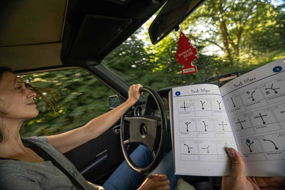 Mit dem Trackbook Nord-Ost Deutschland auf Tour durch Rügen