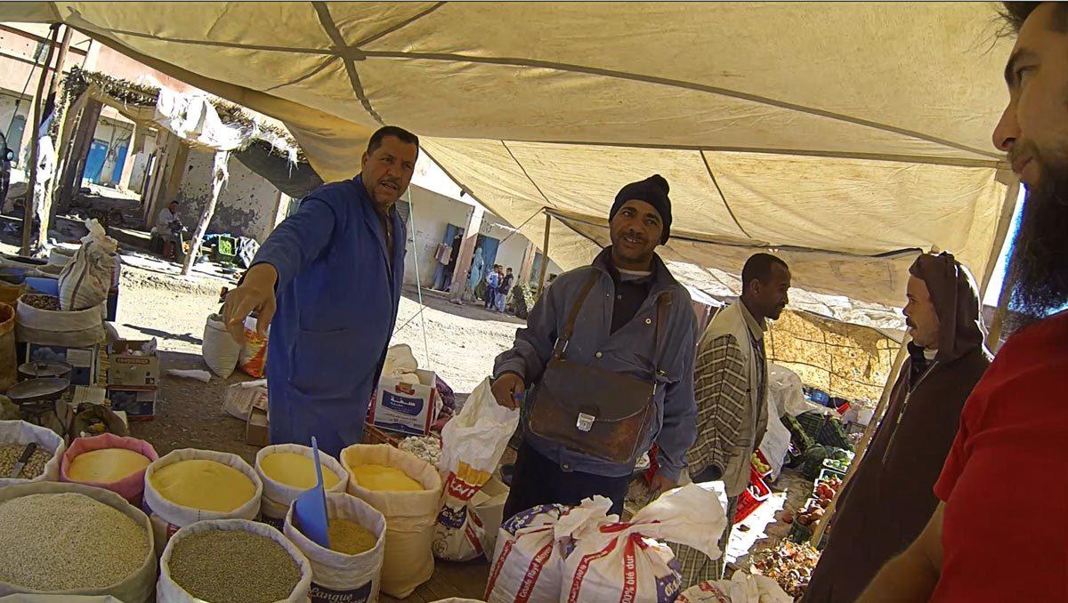 Einkaufen in Marokko, Souk in Foum Zguid