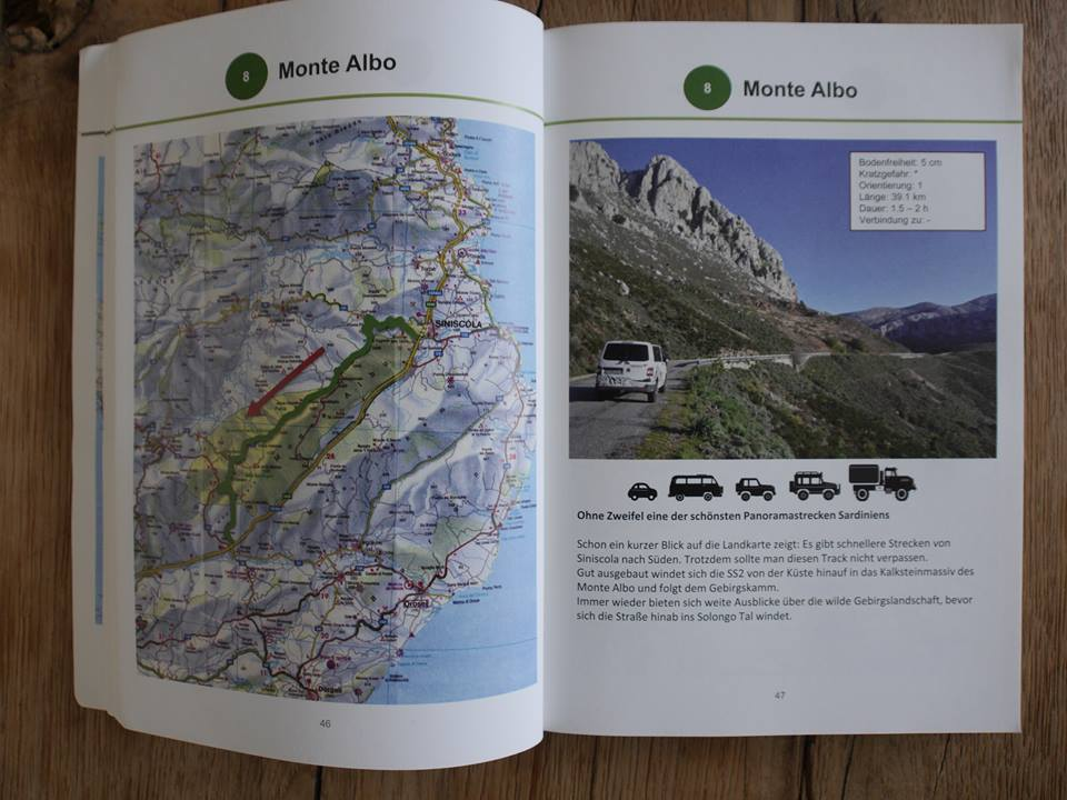 Sardinien Offroad Trackbook