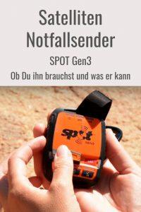 Satelliten Notfallsender SPOT Gen3