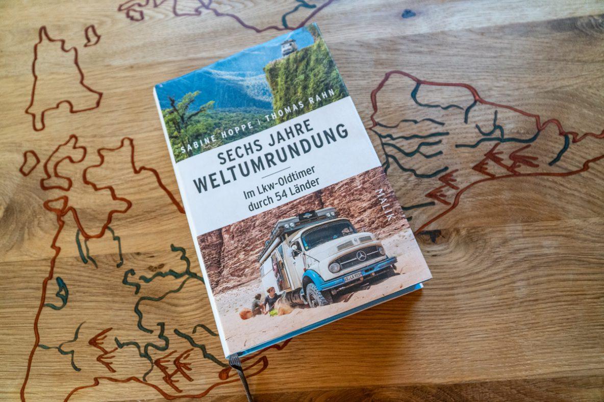 6 Jahre Weltumrundung, das Buch
