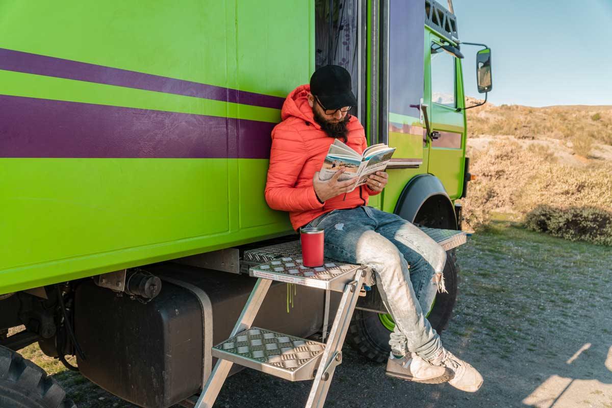 Reiselektüre - 6 Jahr Weltumrundung, das Buch von Abseitsreisen