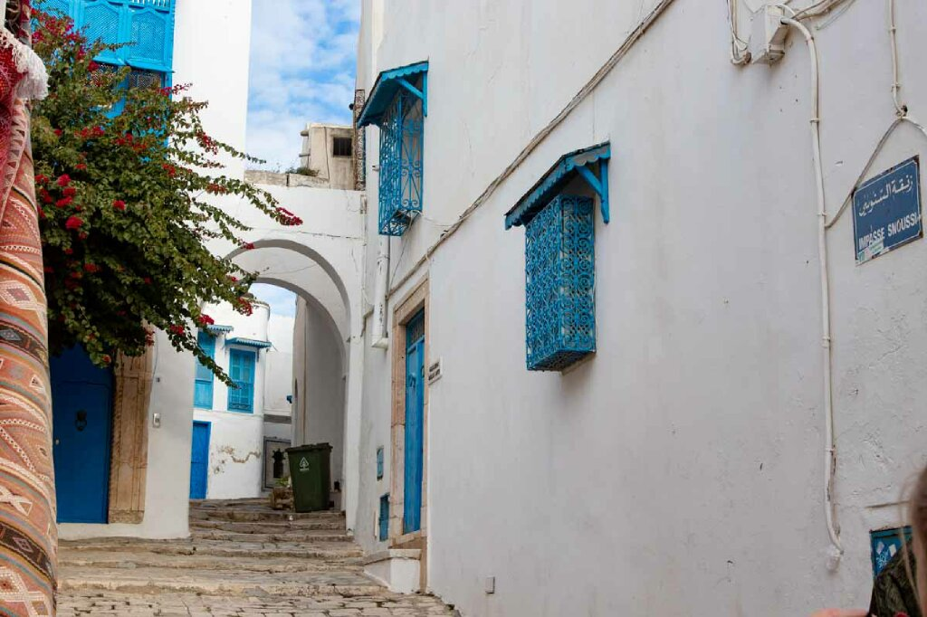 Gasse in Sidi Bou Said