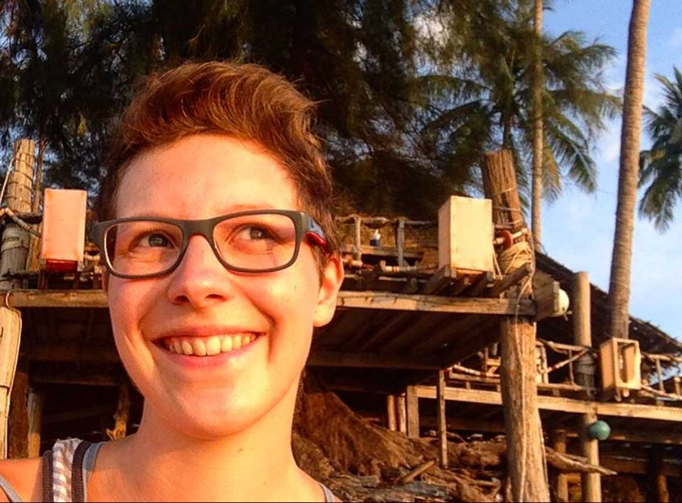 Digitale Nomadin Silke auf Bali