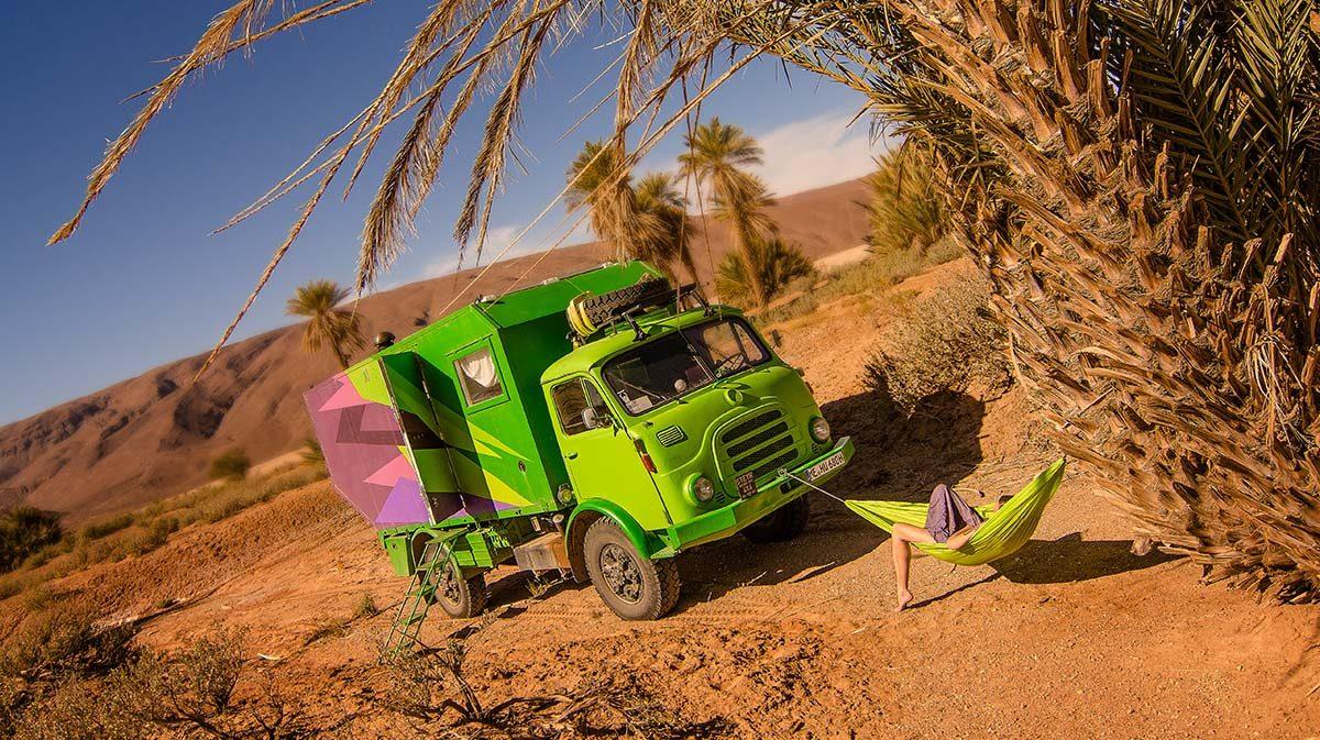 Freistehen in Marokko