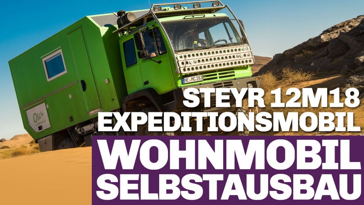 Steyr 12m18 Wohnmobil Roomtour
