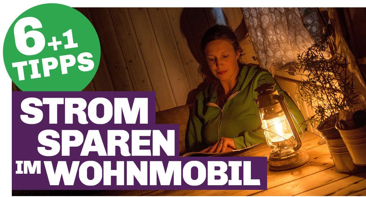 Bild mit Link zum Artikel Strom sparen im Wohnmobil