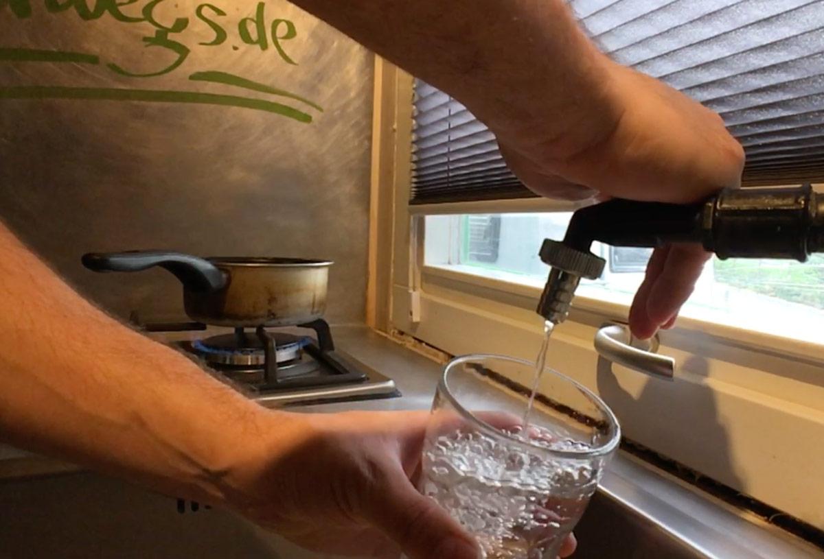 Frischwasser Im Wohnmobil