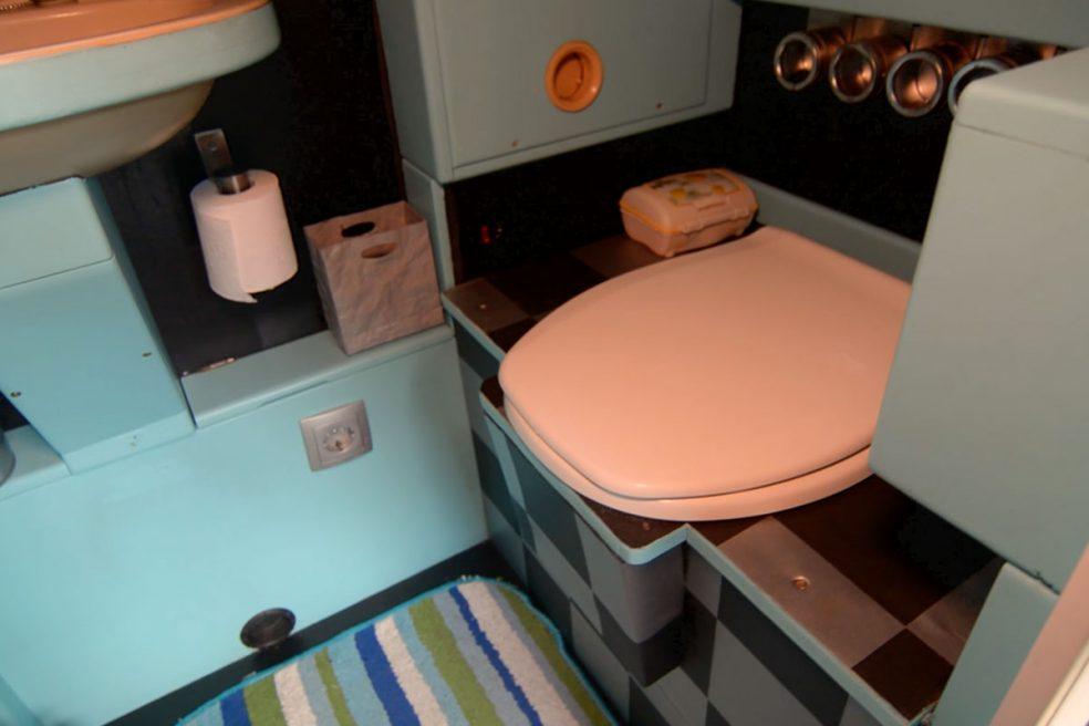 Trockentoilette im Wohnmobil