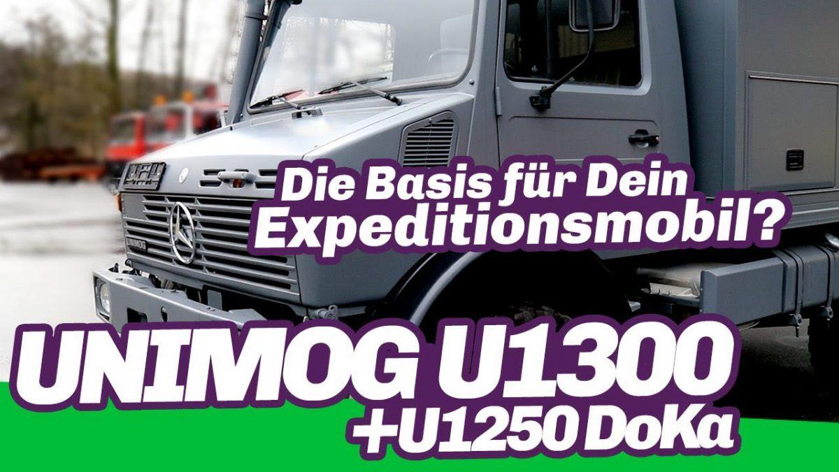 Unimog U1250 + U1300 - die Basis für Dein Reisemobil?