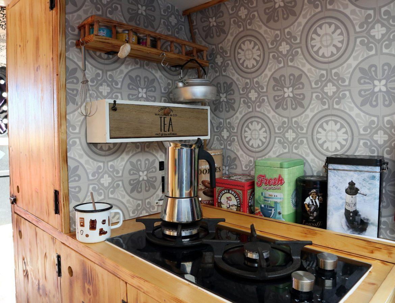 Campervan Küche