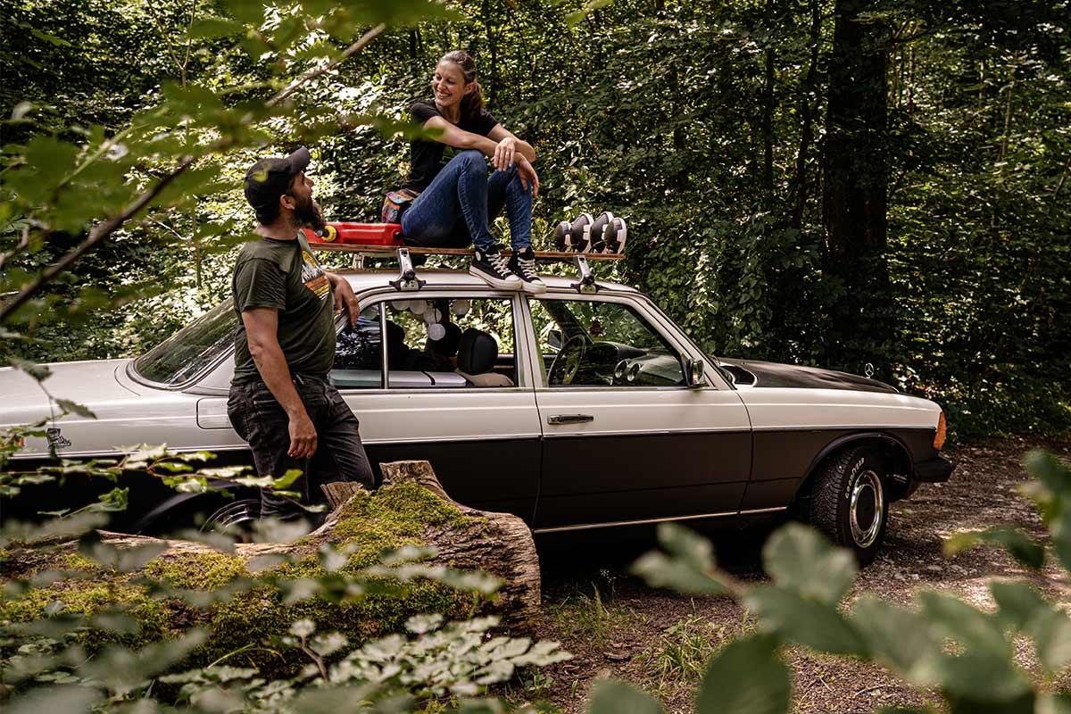 W123 Camper