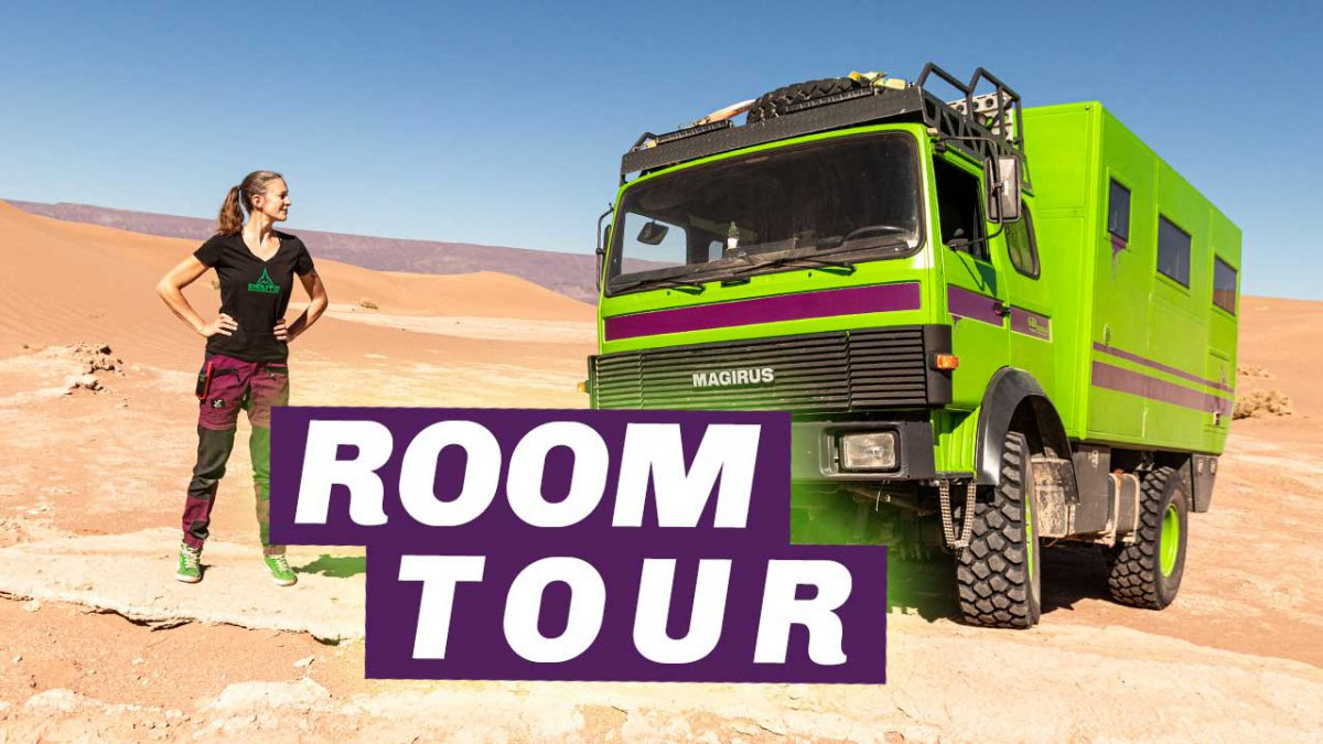 Roomtour Iveco 90-16 Expeditionsmobil / Allrad Wohnmobil Herman 3
