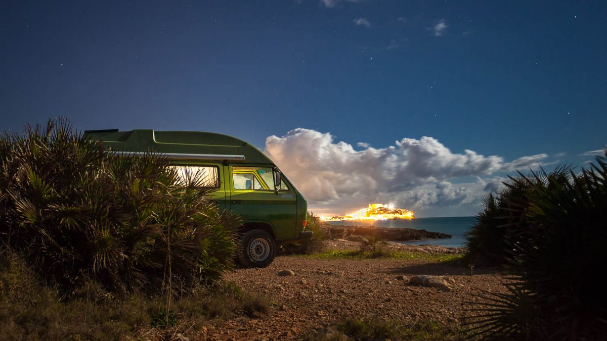 T3 Syncro Camping