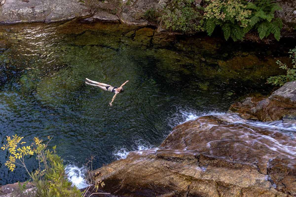 Am Col de Bavella gelegen - Bademöglichkeiten in den Schluchten